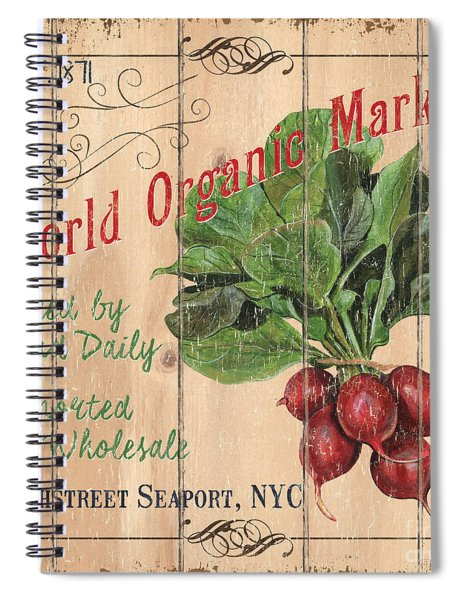 World Organic Market Spiral Notebook