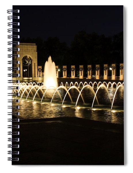 World War Memorial Spiral Notebook