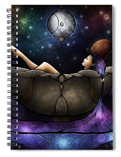 Worlds Away Spiral Notebook