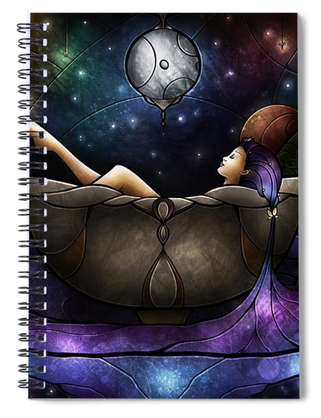 Worlds Away Spiral Notebook