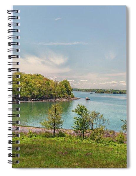 Worlds End Hingham Massachusetts Spiral Notebook