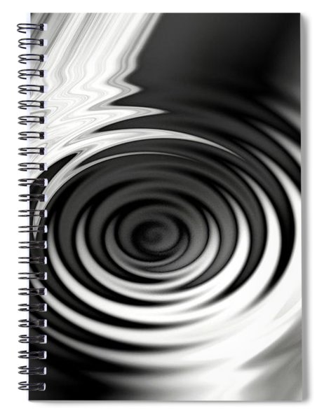 Wormhold Abstract Spiral Notebook