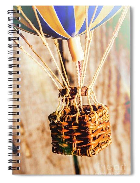 Woven Air Craft Spiral Notebook