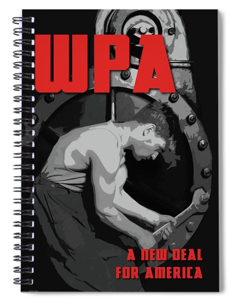 A New Deal For America Spiral Notebook