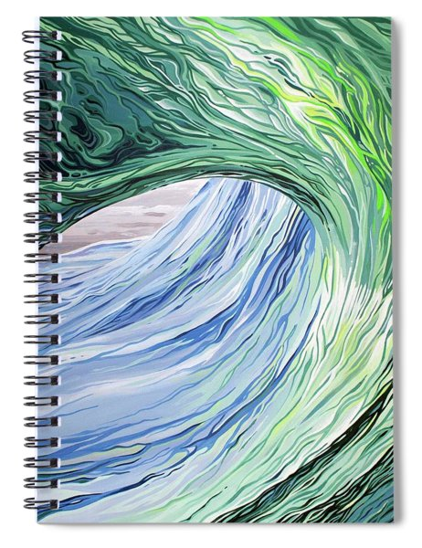 Wrap Around Spiral Notebook
