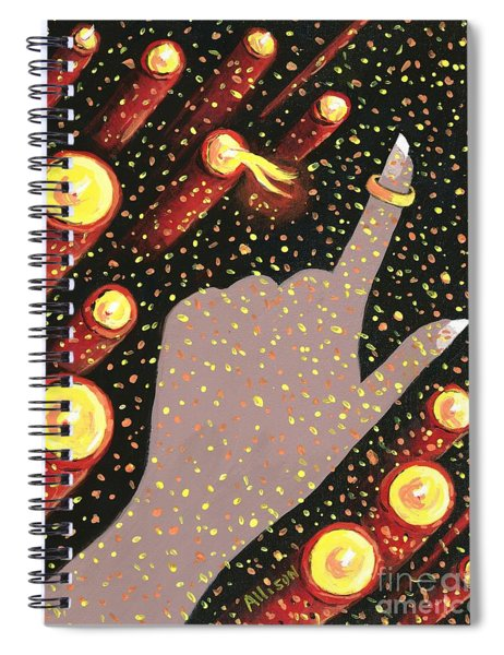 Wrapped Around My Finger Spiral Notebook