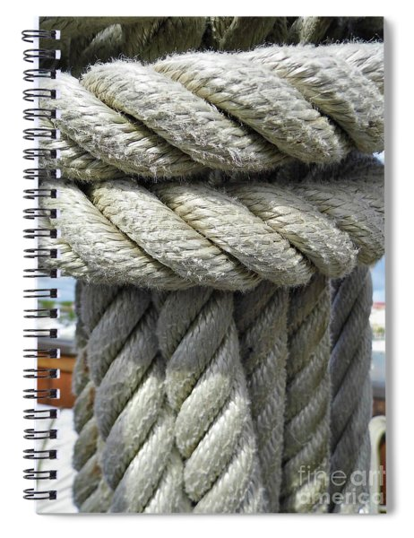 Wrapped Up Tight Spiral Notebook