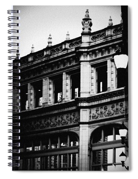 Wrigley Building Square Spiral Notebook