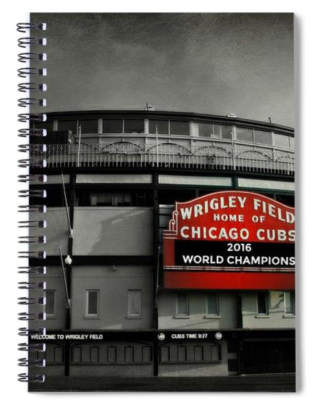 Wrigley Field Spiral Notebook