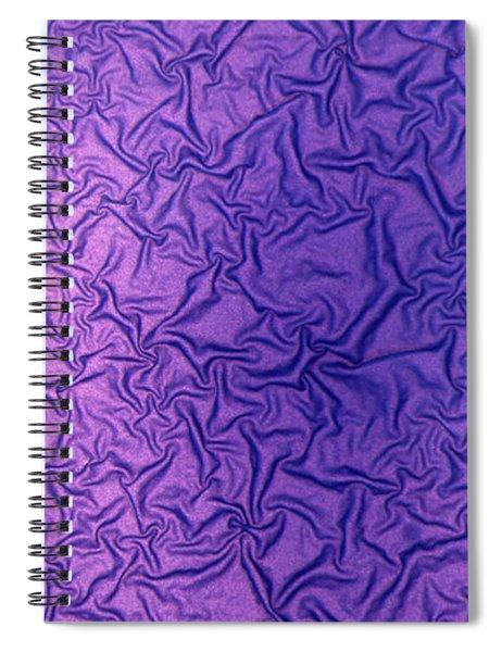 Purple Wrinkles Spiral Notebook
