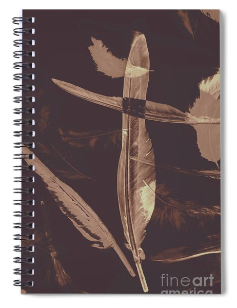 Writers Guild Abstract Spiral Notebook