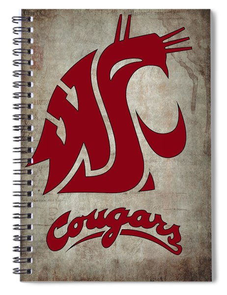 W S U Cougars Spiral Notebook