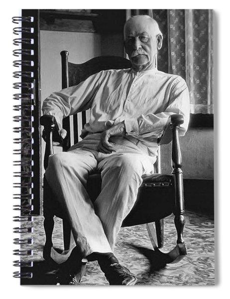 Wyatt Earp 1923 - Los Angeles Spiral Notebook