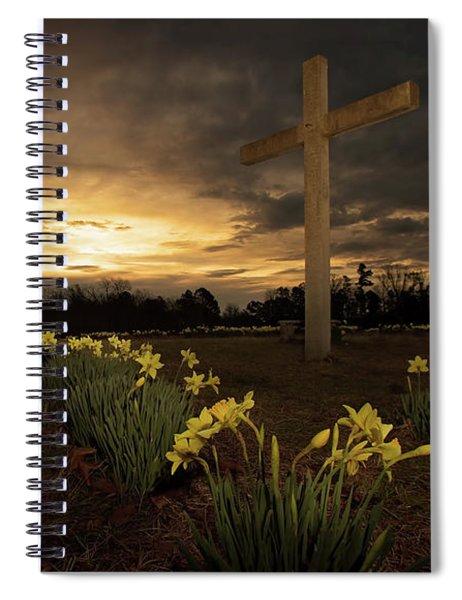 Wye Mountain Sunset Spiral Notebook