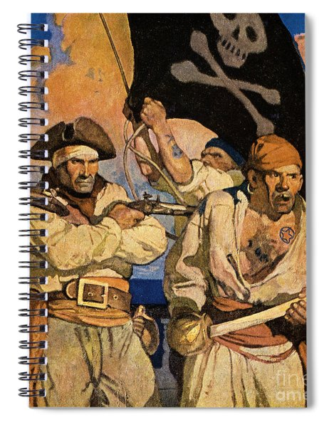 Wyeth: Treasure Island Spiral Notebook