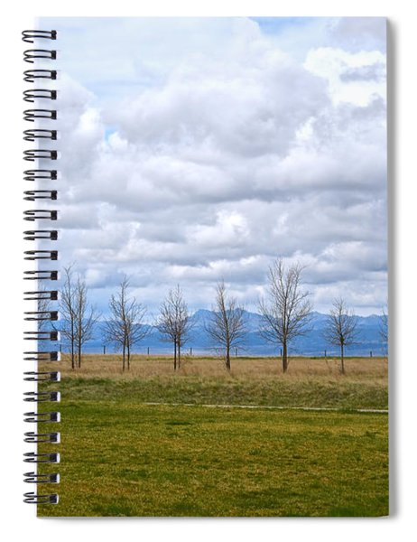 Wyoming-dwyer Junction Spiral Notebook