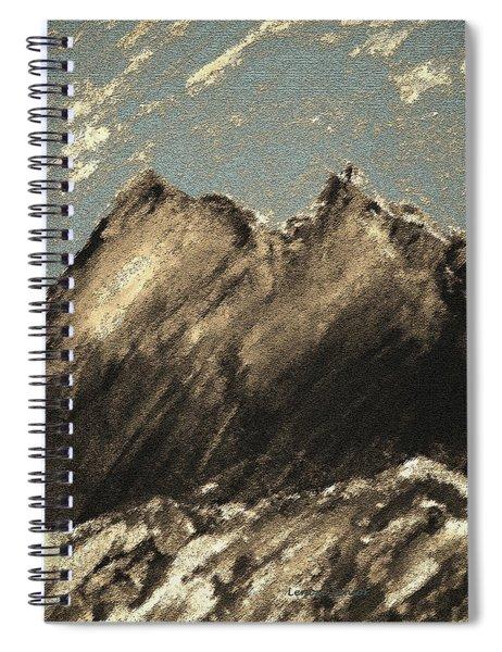 Wyoming Mountain Scene Spiral Notebook