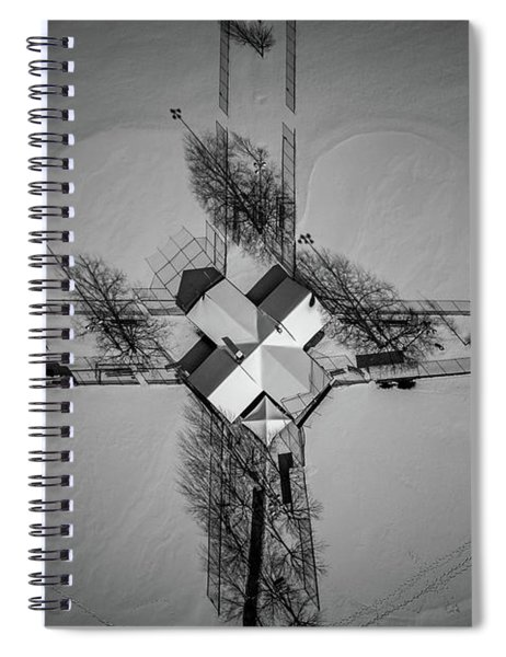 X Marks The Spot Spiral Notebook