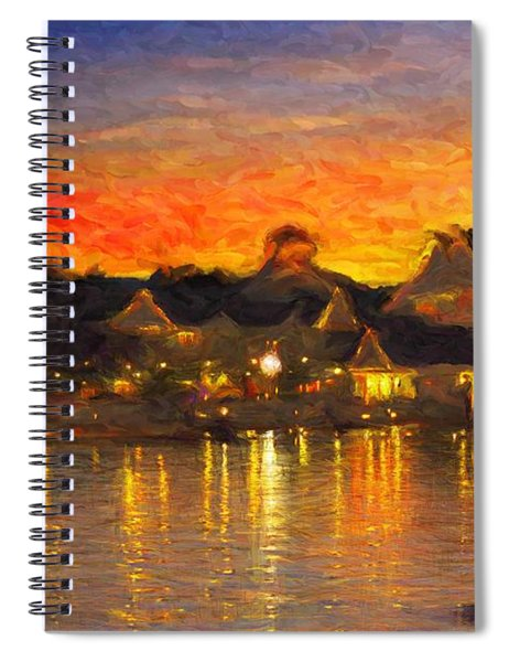 Yacht Club Spiral Notebook