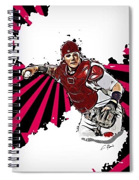Yadier Molina Spiral Notebook