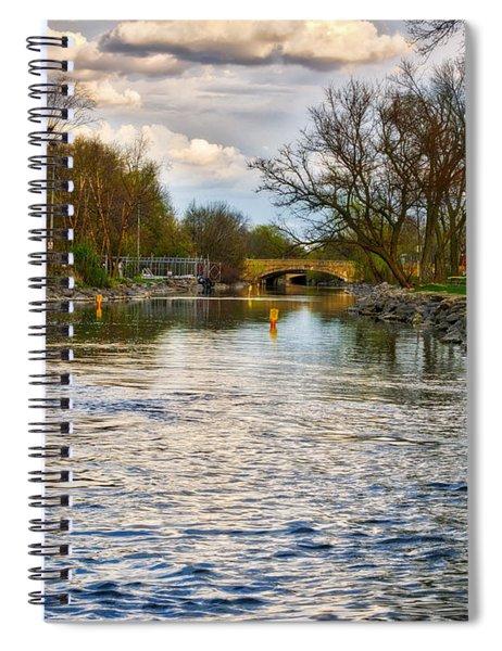 Yahara River, Madison, Wi Spiral Notebook