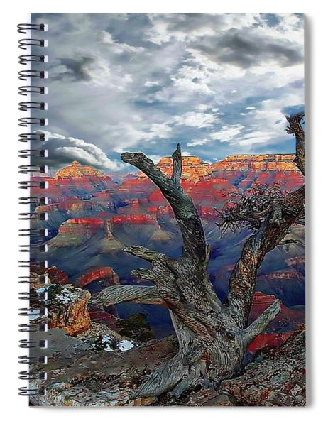 Yaki Point Grand Canyon Spiral Notebook