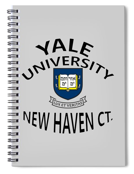 Yale University New Haven Connecticut  Spiral Notebook