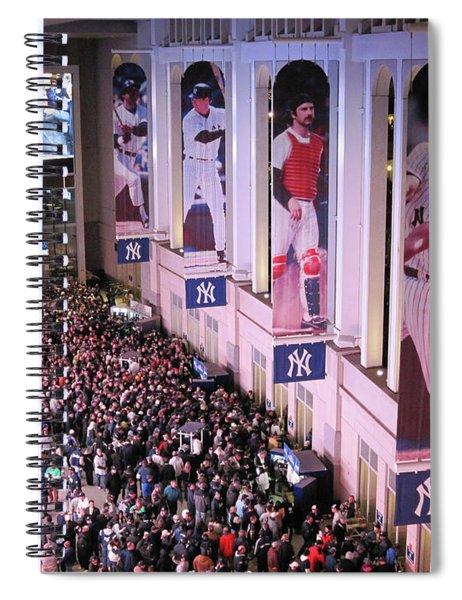 Yankee Stadium Great Hall 2009 World Series Color  Spiral Notebook