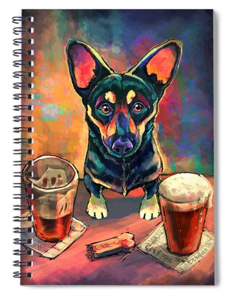 Yappy Hour Spiral Notebook