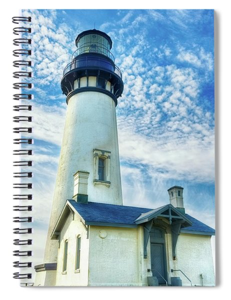 Yaquina Head Lighthouse 2 Spiral Notebook