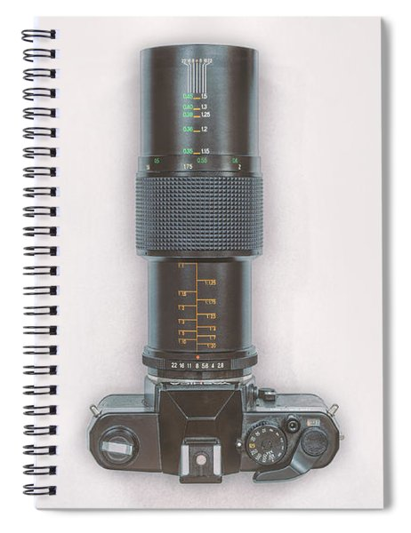 Yashica Fx-3 With 90mm Lens Spiral Notebook