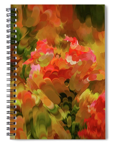 Yellow And Orange #h6 Spiral Notebook