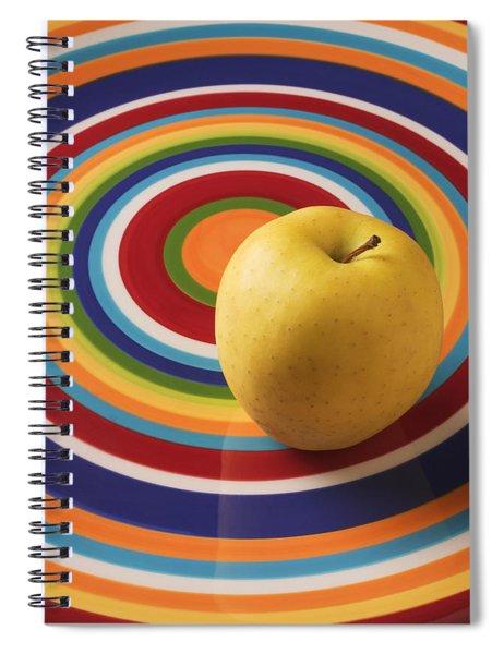 Yellow Apple  Spiral Notebook
