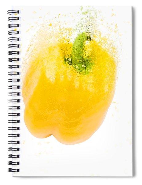 Yellow Bell Pepper  Spiral Notebook