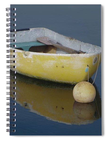 Yellow Rowboat Spiral Notebook