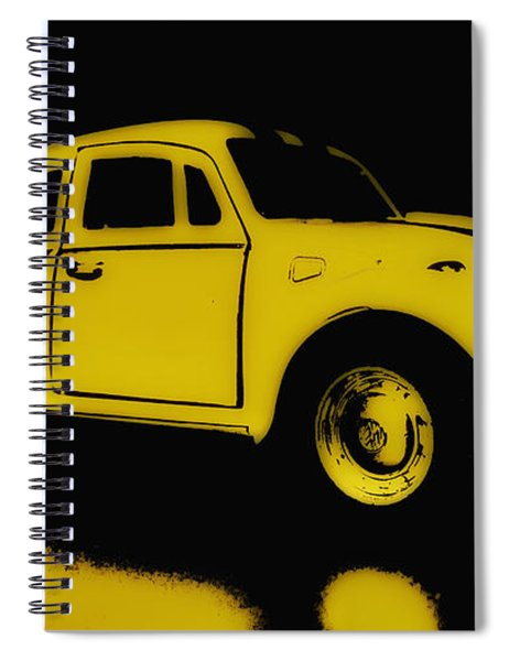 Yellow Bug Spiral Notebook