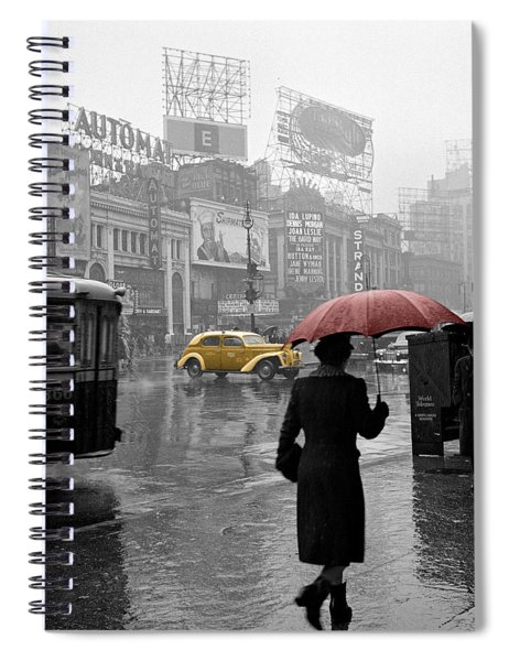 Yellow Cabs New York 2 Spiral Notebook