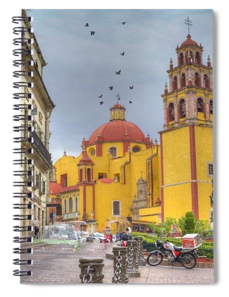 Yellow Church Spiral Notebook