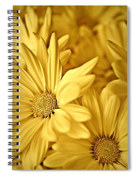 Yellow Daisies Spiral Notebook