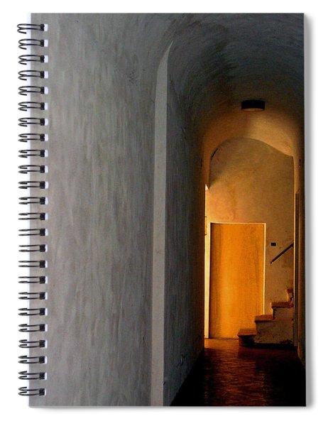 Yellow Door Spiral Notebook