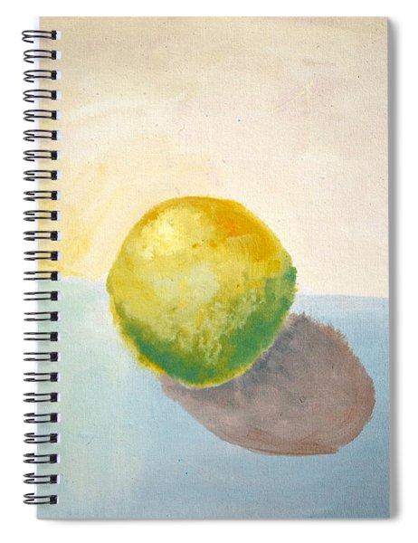 Yellow Lemon Still Life Spiral Notebook by Michelle Calkins