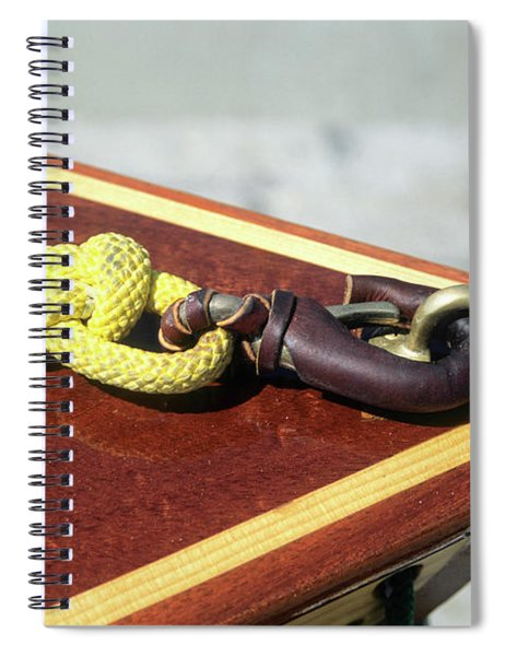 Yellow Line Spiral Notebook
