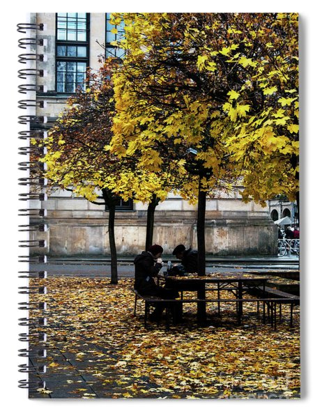 Yellow Lunch Spiral Notebook