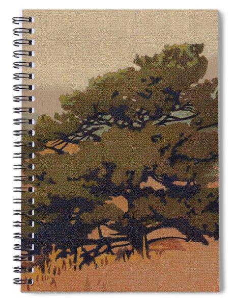 Yellow Pine Spiral Notebook