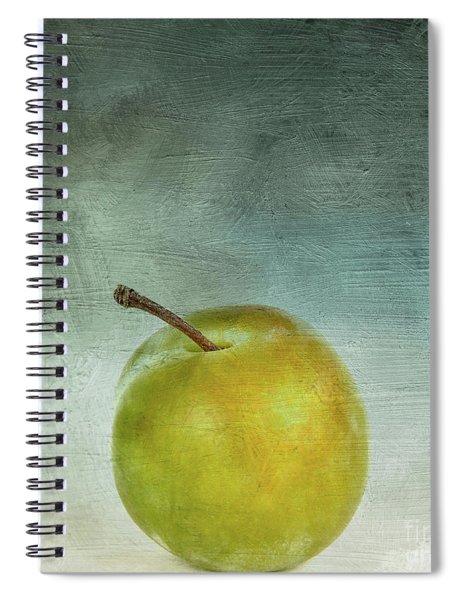 Yellow Plum Spiral Notebook