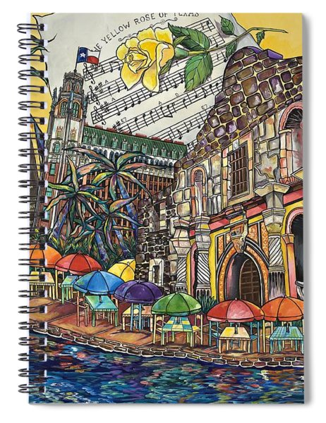Yellow Rose Of Texas Spiral Notebook