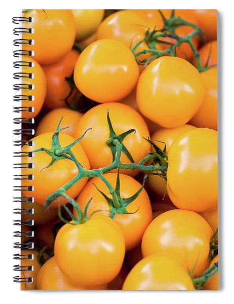 Yellow Tomatoes Spiral Notebook
