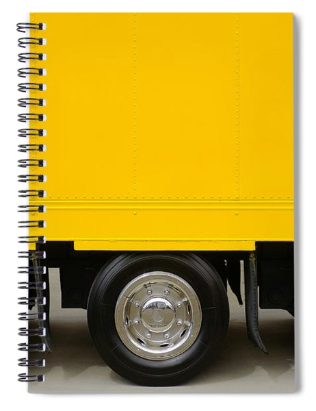 Yellow Truck Spiral Notebook