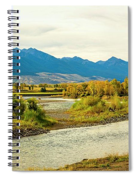Yellowstone Morning Spiral Notebook