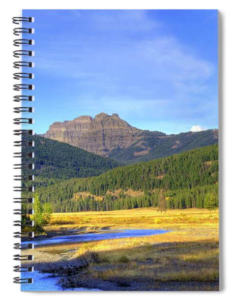Yellowstone National Park Landscape Spiral Notebook
